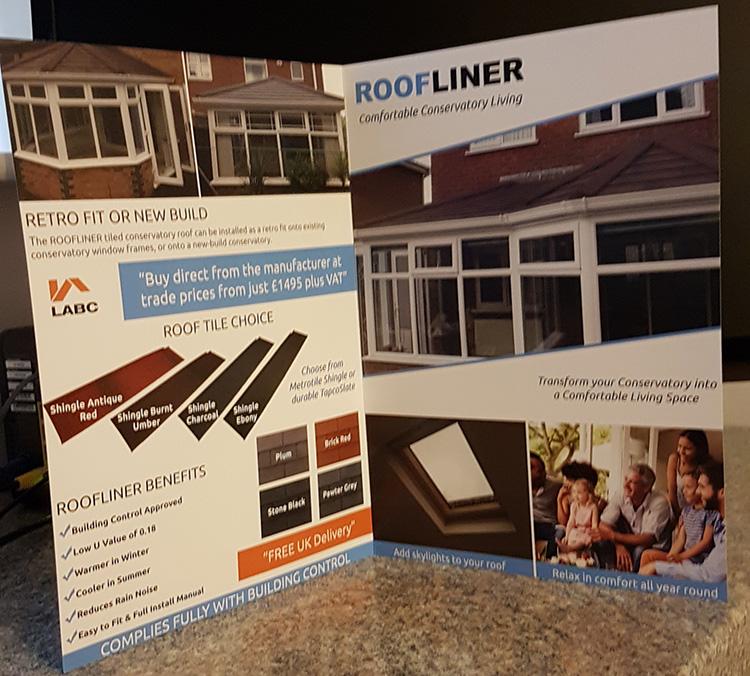 Leaflet Design Saddleworth & Oldham