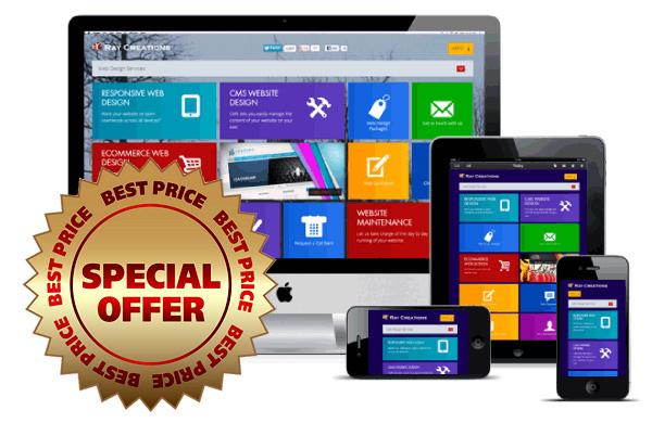 Website designer in oldham - July offer