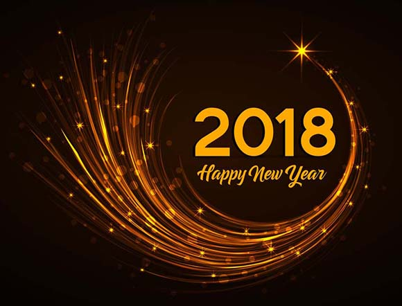 Happy 2018 to all of my Website Design & Adword Clients!