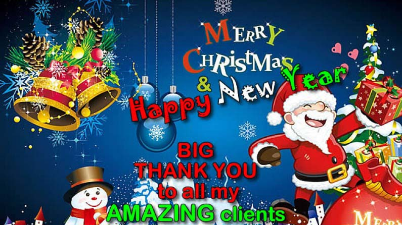 Merry Christmas & Happy New Year - 2018