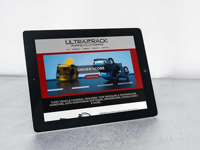 Telematics Website - UltraTrack in Oldham