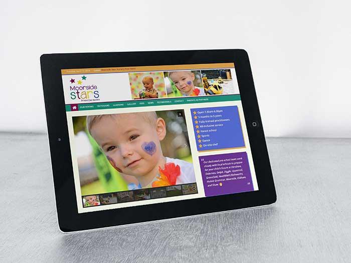 Nursery Website - Moorside Stars in Moorside, Oldham