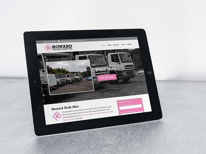 Groundworks Website - Howard Ground Services in Royton, Oldham