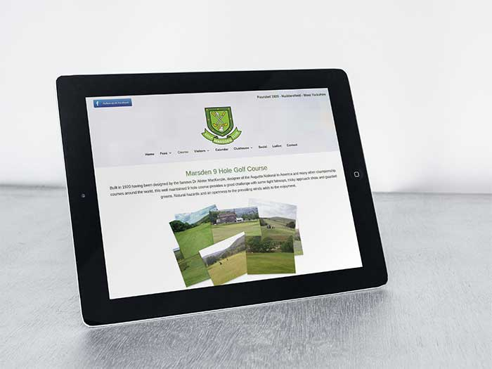 Club Website - Marsden Golf Club in Marsden, Huddersfield