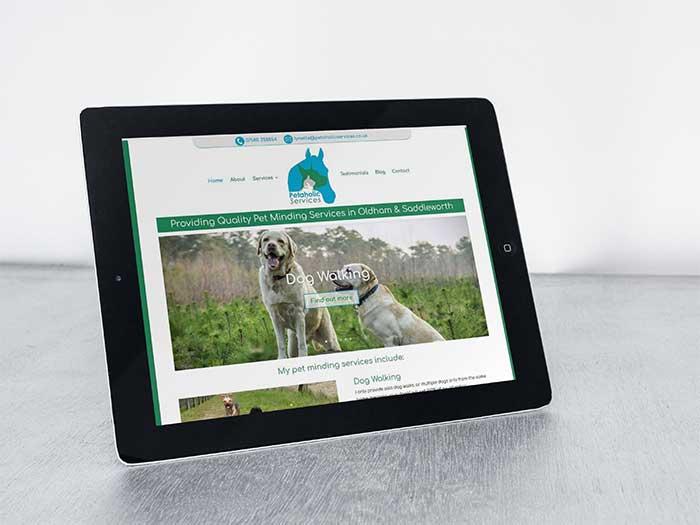 Pet Minding Website - Petaholic Services in Moorside, Oldham