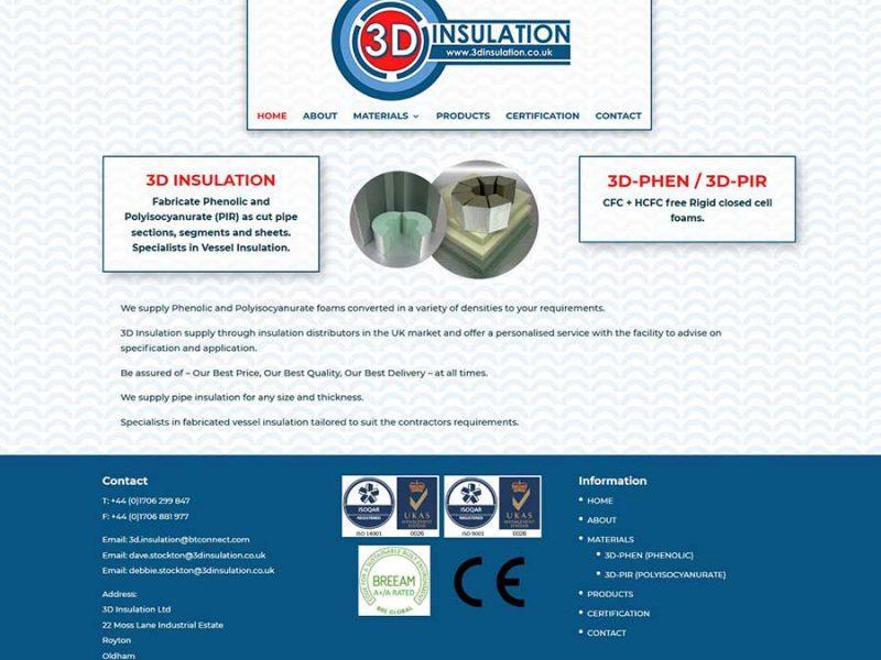 Website Design For An Insulation Company