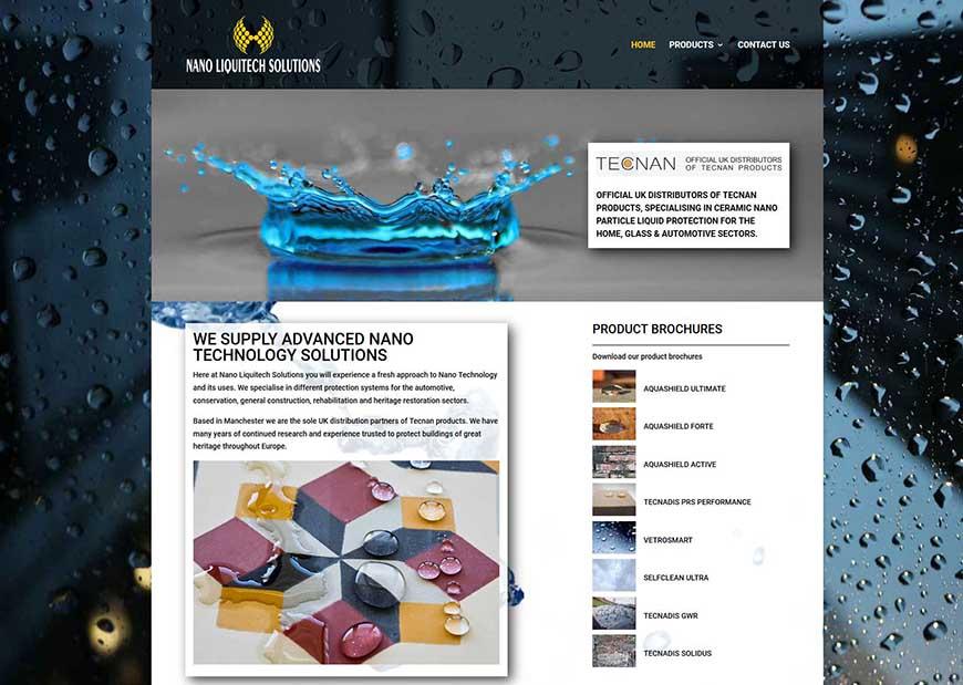 Website Design For A Stalybridge Company
