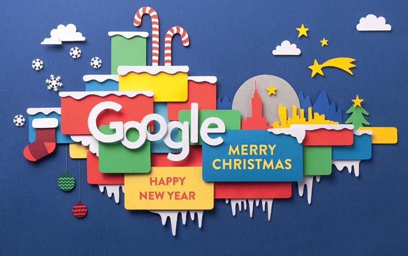 Merry Christmas & Happy New Year To All My Web Design & Google Adwords Customers, Both Current & Prospective!