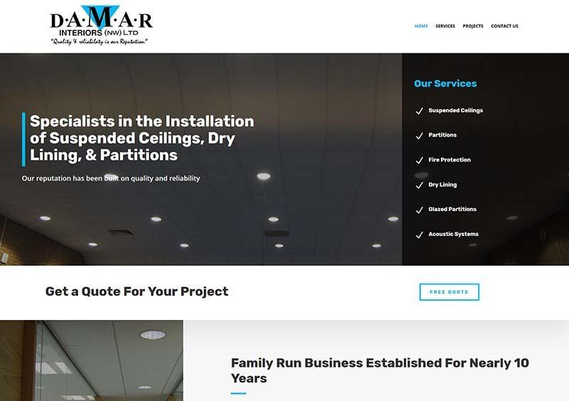 Website Design For A Rochdale Company
