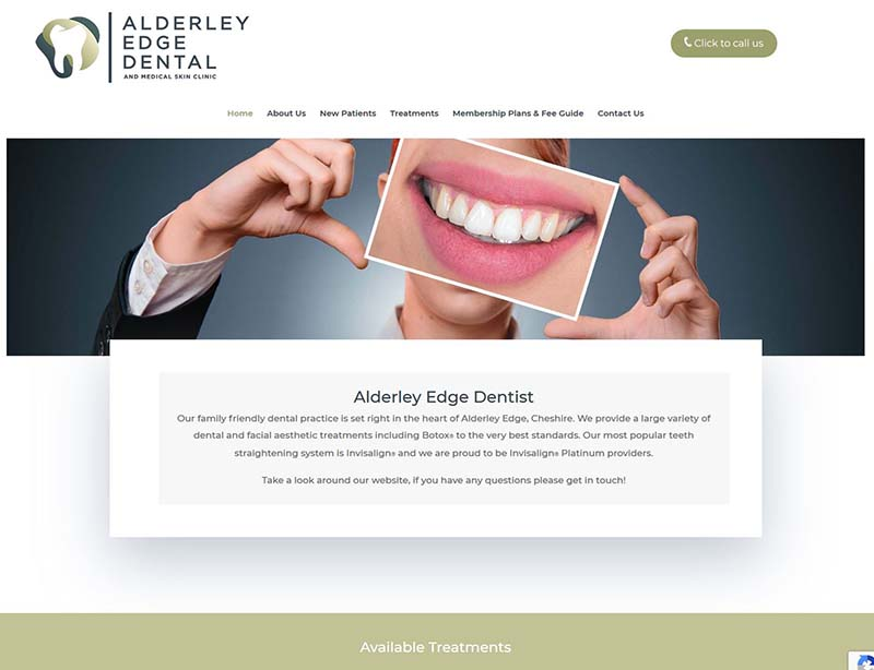 New Website Design For A Dental Practice