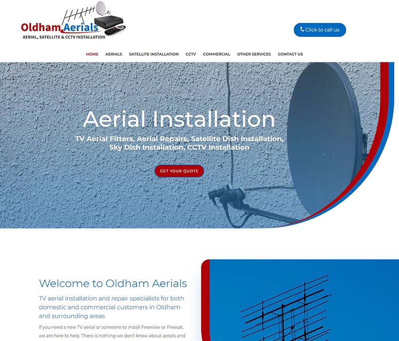 SEO Website Design & Logo Refresh For A Business in Oldham