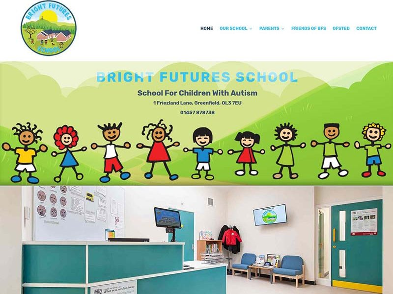 Website Design For A School
