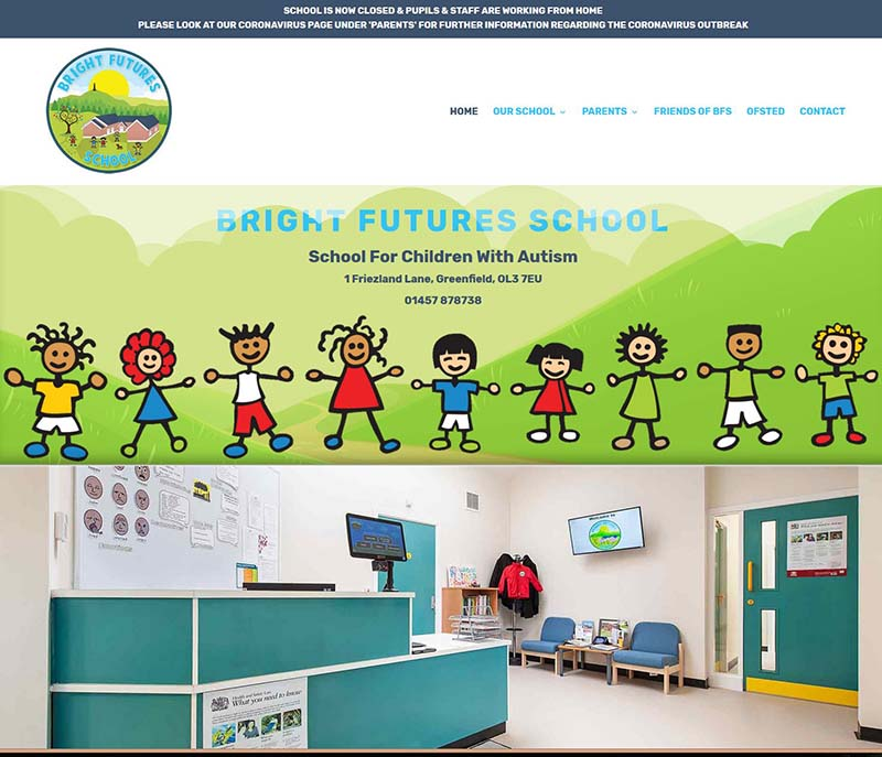 Website Design For A School