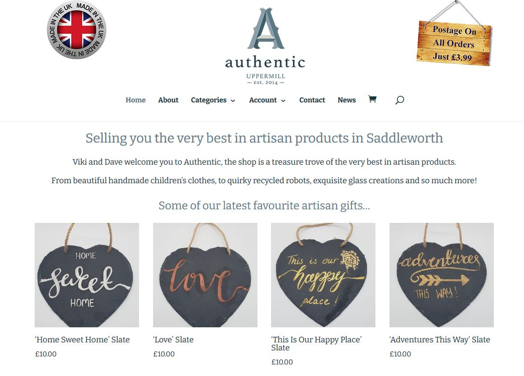 Online Shop Website Design Oldham