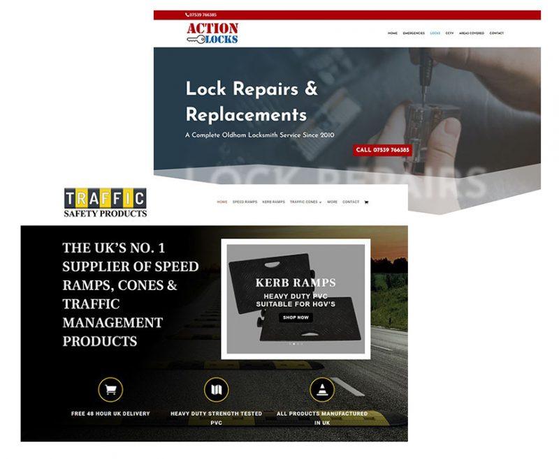 2 New Website Designs For Oldham Based Businesses